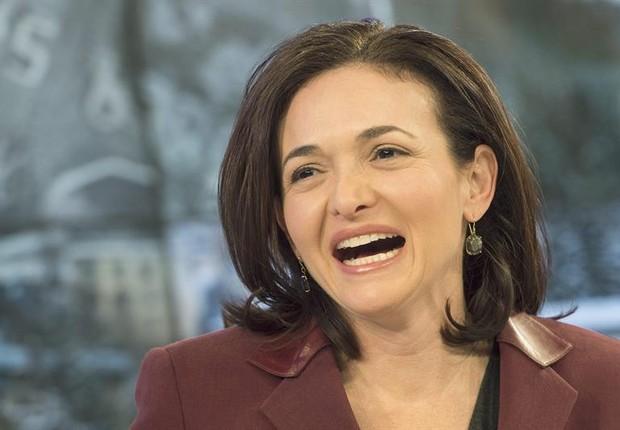 Sheryl Sandberg durante o Fórum Econômico Mundial (Foto: Agência EFE)