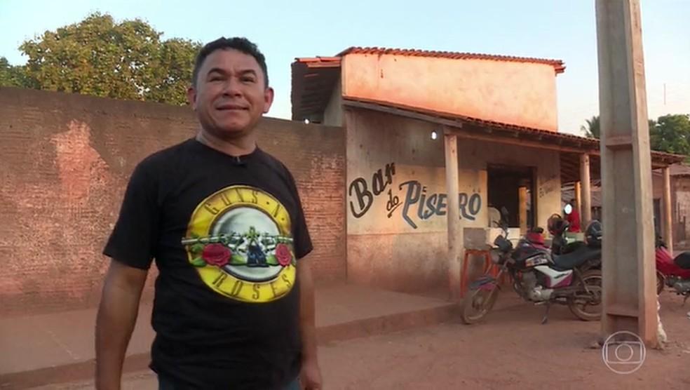 Cruz Gago morreu de Covid-19 nesta terça-feira (16), no Maranhão — Foto: Reprodução/TV Globo