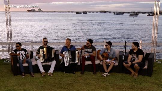 Muita música com Edson Lima, Guilherme Dantas, Adelson Viana, Guto Ribeiro e Pedro & Benício