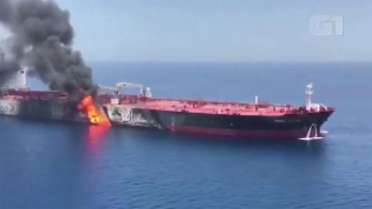 Irã convoca embaixador britânico após acusação de envolvimento em ataques a navios, diz agência