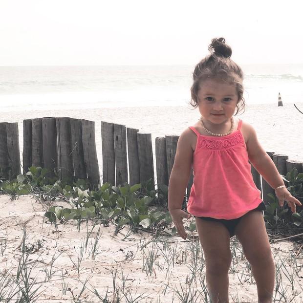 Madalena, filha de Bruno Gissoni e Yanna Lavigne (Foto: Instagram)