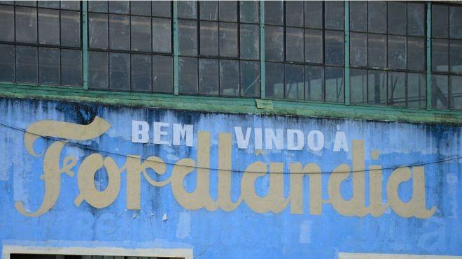 """Ford em 1928: """"Não vamos à América do Sul para ganhar dinheiro, mas ajudar a desenvolver essa terra maravilhosa e fértil"""" (Foto: Getty Images/BBC)"""