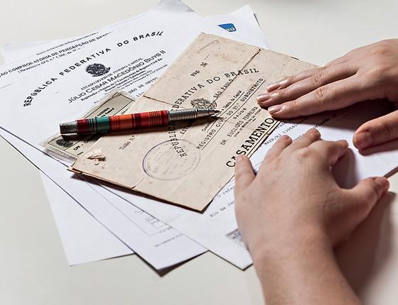 Após a morte da mãe, K. falsificou a assinatura dela num documento, com data retroativa, para não ter de fazer inventário (Foto: Stefano Martini/Agência O Globo)