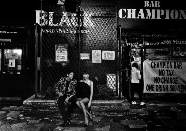 SELF, de Saint Laurent (Foto: Daido Moriyama)