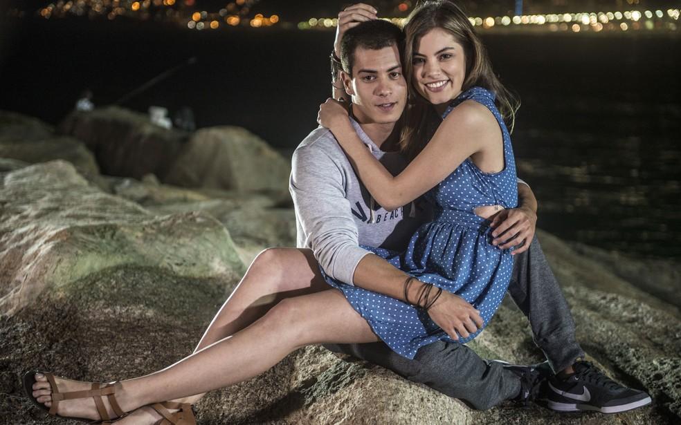 Duca (Arthur Aguiar) e Bianca (Bruna Hamú), o casal Duanca de 'Malhação - Sonhos' — Foto: Renato Rocha Miranda/Globo
