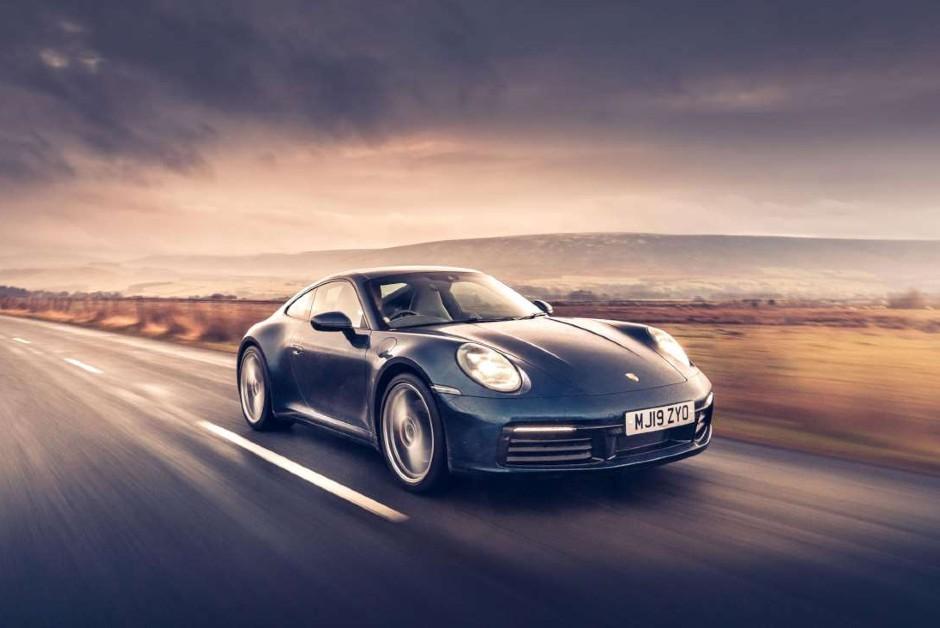 Porsche 911 Turbo - Frente (Foto: Divulgação)
