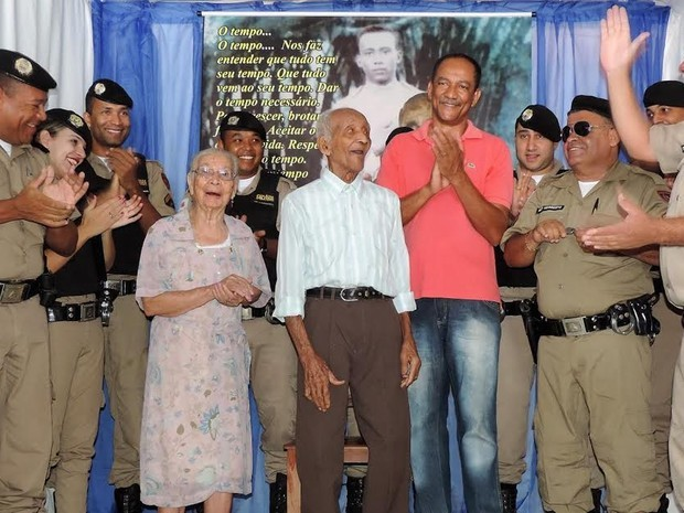 Policial de 108 anos é homenageado por ser o mais antigo de Minas Gerais |  Grande Minas | G1