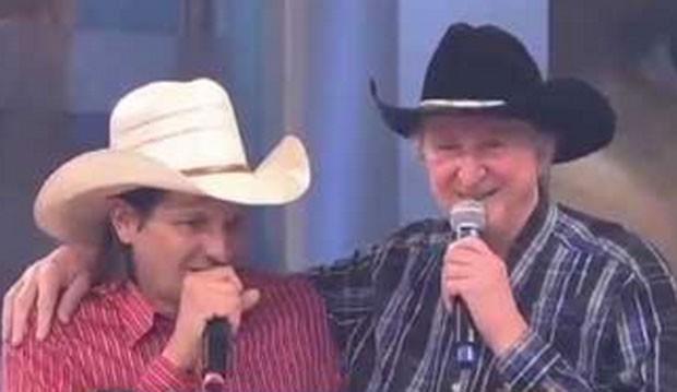 Asa Branca e Sergio Reis (Foto: Reprodução)