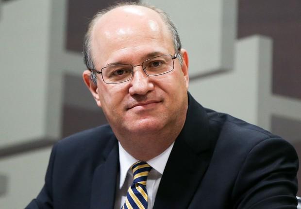 O economista Ilan Goldfajn, indicado para a presidência do Banco Central (BC), é sabatinado na Comissão de Assuntos Econômicos (CAE) do Senado (Foto: Marcelo Camargo/Agência Brasil)
