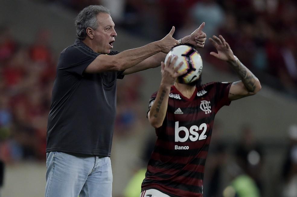 Abel teve 67,7% de aproveitamento no Flamengo — Foto: ALEXANDRE LOUREIRO/ELEVEN/ESTADÃO CONTEÚDO
