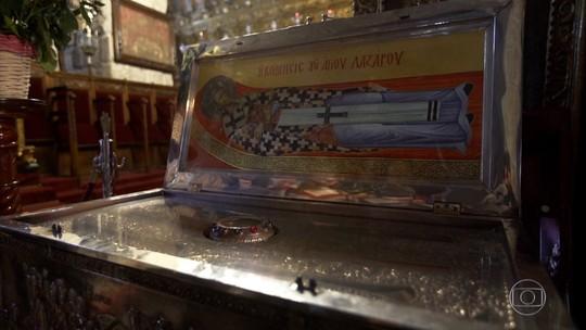 Ilha da religiosidade: igreja no Chipre guarda relíquias de São Lázaro