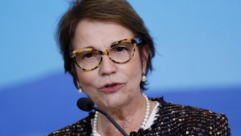 politica-tereza-cristina-ministra (Foto: Adriano Machado/Reuters)