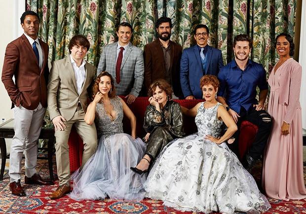 Elenco do espetáculo Isaura Garcia - O Musical (Foto: Elvis Moreira/Divulgação)