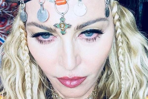 Madonna postou selfie para comemorar aniversário de 60 anos em  Marrakesh (Foto: Reprodução/Instagram)