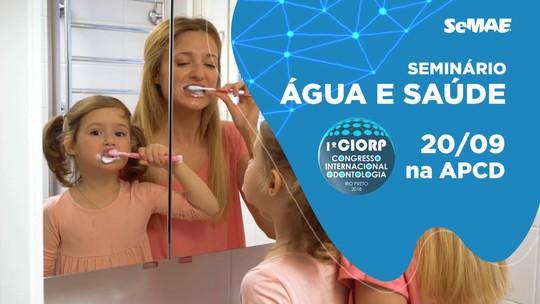 Fluoretação da água faz 82% das crianças ficarem livres de cáries em Rio Preto