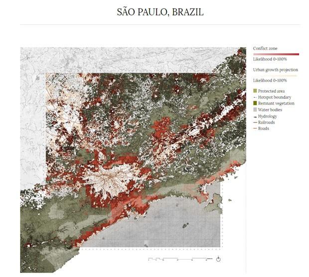 Pesquisa investiga os dados da urbanização para a biodiversidade (Foto: Divulgação)