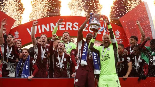 Leicester conquistou a Copa da Inglaterra pela primeira vez em sua história