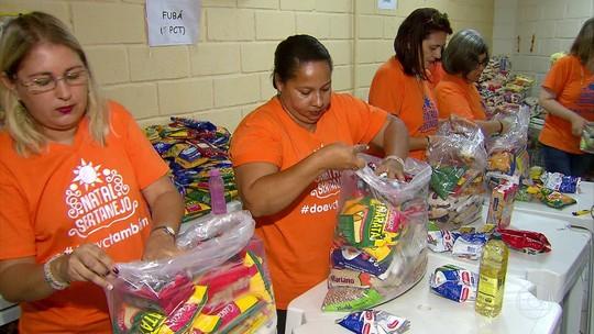 Campanha 'Natal Sertanejo' arrecada alimentos para famílias carentes de Pernambuco