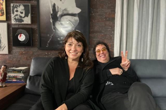 Susanna Lira e Walter Casagrande Jr (Foto: Arquivo pessoal)