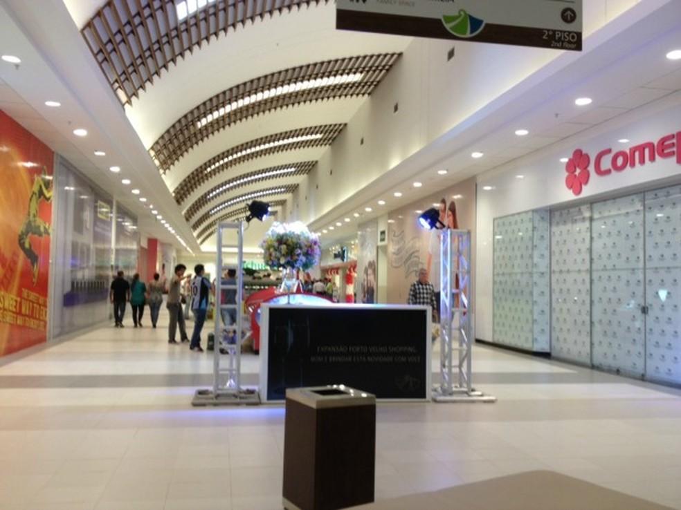 Porto Velho Shopping. — Foto: Taísa Arruda/G1/Arquivo