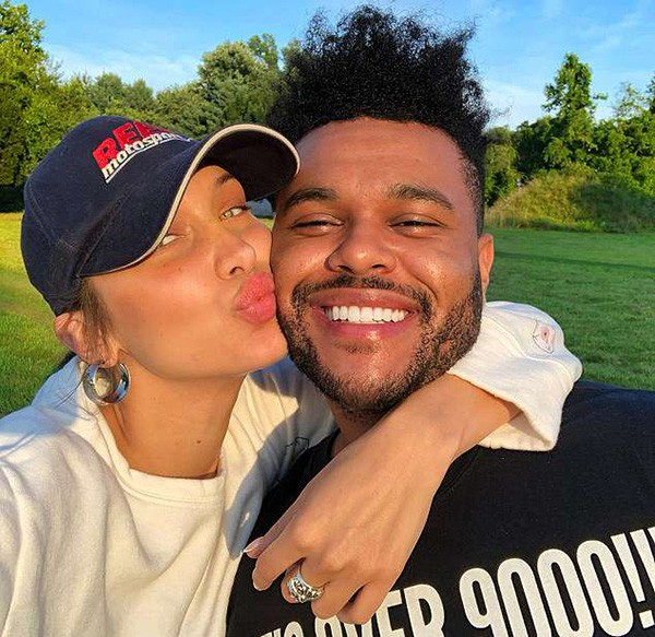 The Weeknd e Bella Hadid (Foto: Instagram)