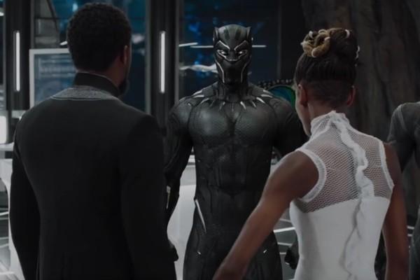 Uma cena de Pantera Negra da Marvel Studios (Foto: Divulgação)