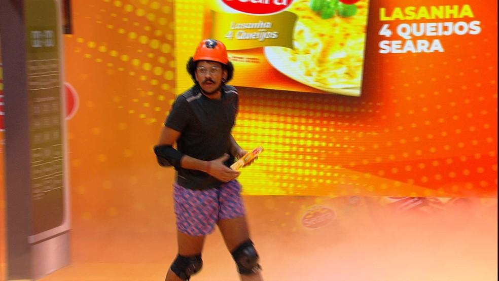 João Luiz é o novo Anjo do BBB21 — Foto: Minuto a Minuto - BBB