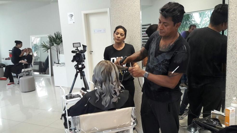 Salão de beleza em Campo Grande; setor de serviços volta a crescer  (Foto: Graziela Rezende/ TV Morena)