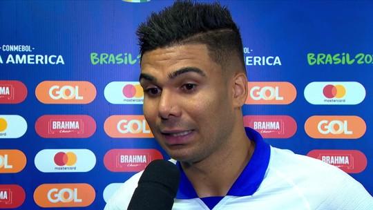 Casemiro diz que jogo contra a Venezuela será complicado, mas time está preparado