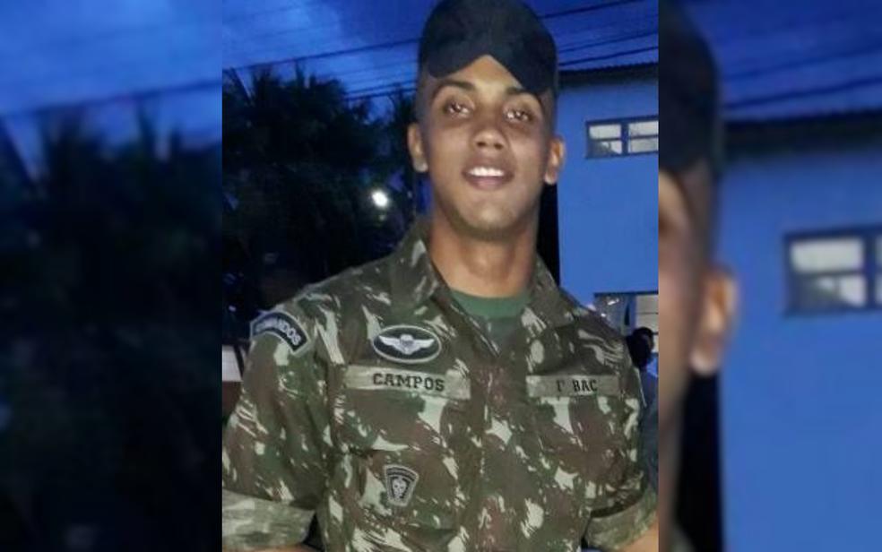 Victor Campos Ferreira morreu após ser baleado acidentalmente em treinamento do Exército em Formosa (Foto: Reprodução)