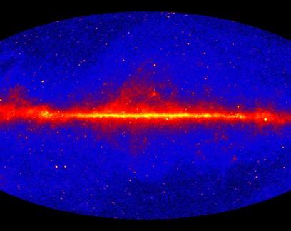 Astrônomos desvendam origem de raios gama no espaço