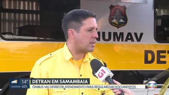 Ônibus do Detran está em Samambaia nesta quarta (14)