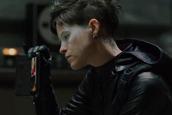 Claire Foy no novo filme da versão americana da trilogia 'Millenium' (Foto: Reprodução)