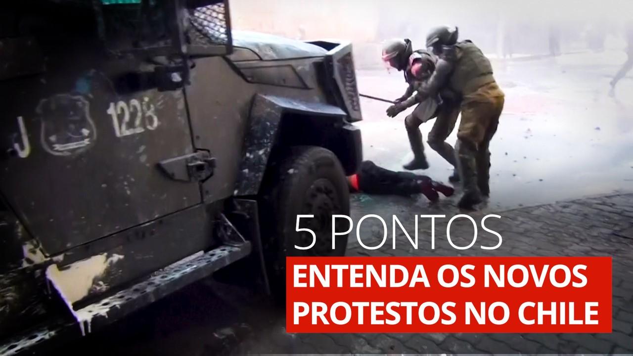 Entenda os novos protestos no Chile em 5 pontos
