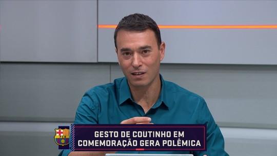 "Rizek critica Philippe Coutinho por gesto após gol pelo Barcelona: ""Teve ataque de estrelismo"""