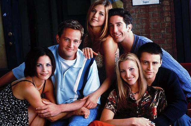 Elenco de 'Friends' (Foto: Divulgação)