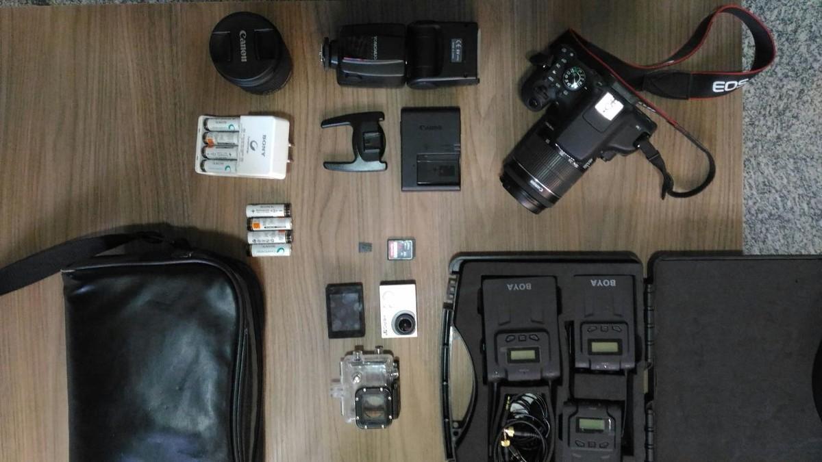 Fotógrafo tem câmera e acessórios furtados de dentro de apartamento em Boa Vista