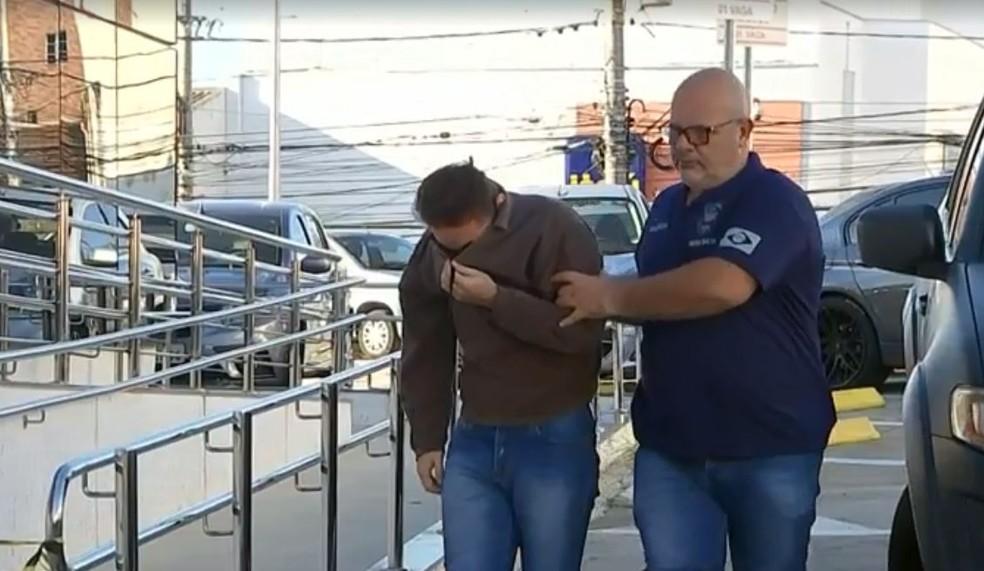 Seis pessoas foram presas durante a operação em Sorocaba  — Foto: Reprodução/ TV TEM