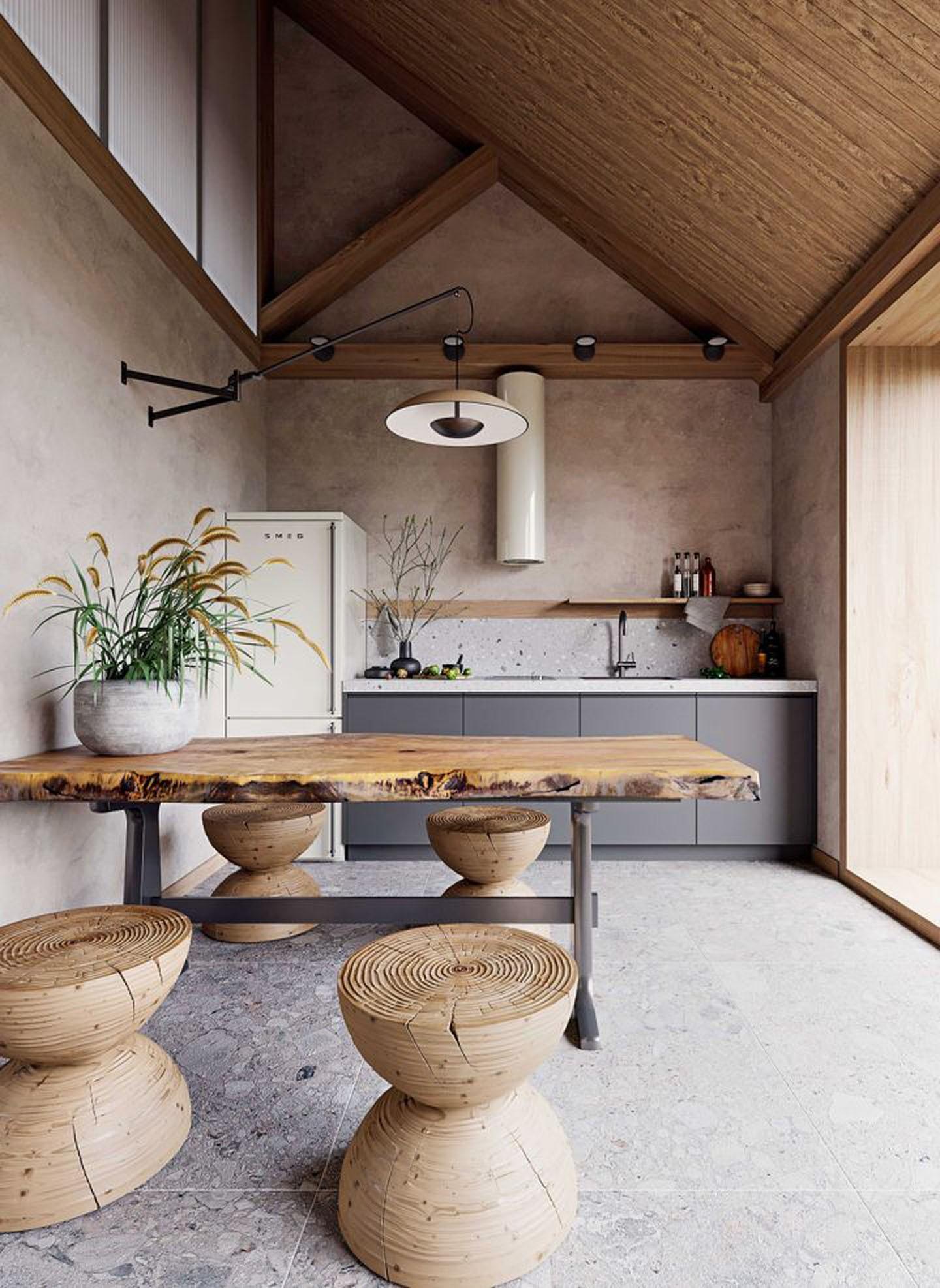 Décor do dia: cozinha escandinava com toque wabi-sabi (Foto: Divulgação)