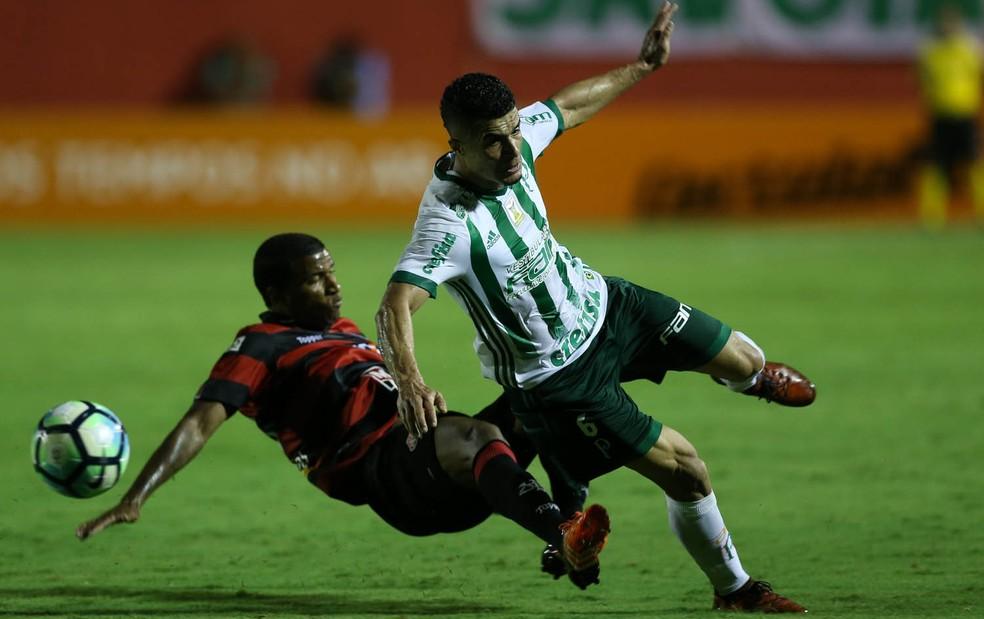 Tropeço do Palmeiras contra o Vitórias foi o terceiro consecutivo (Foto: Cesar Greco/Ag Palmeiras)