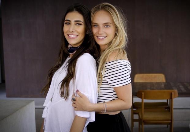Ana Teresa Saad (à esquerda) e Eduarda Ferraz (à direita), fundadoras do Clorent (Foto: Divulgação)