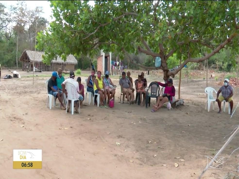 Quilombolas temem as ameaças que vem sofrendo desde novembro de 2020 — Foto: Reprodução/TV Mirante