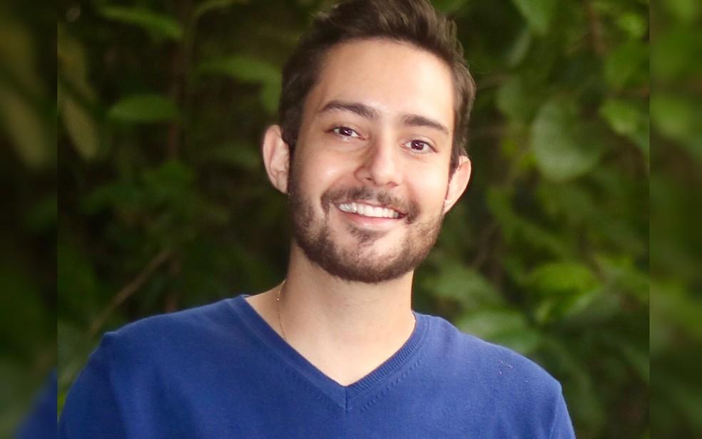 Professor Greiton Toledo de Azevedo, 31 anos, finalista no Global Teacher Prize 2021 — Foto: Reprodução/Arquivo pessoal