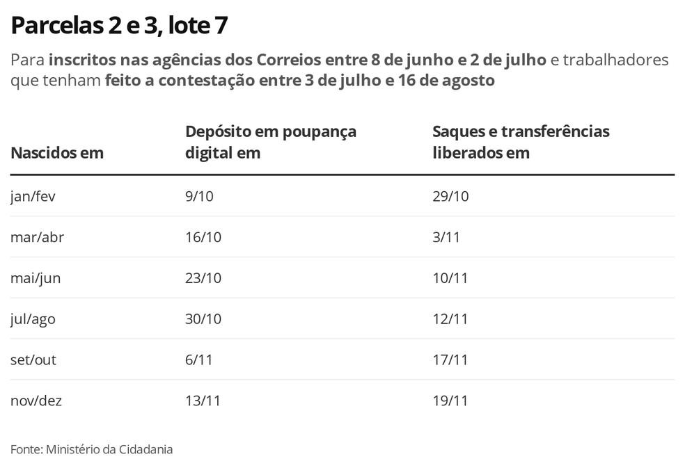 Lote 7, Parcelas 2 e 3 — Foto: Economia G1