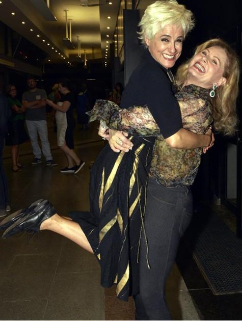 Soraya Ravenle e Vera Fisher (Foto: Cristina Granato)