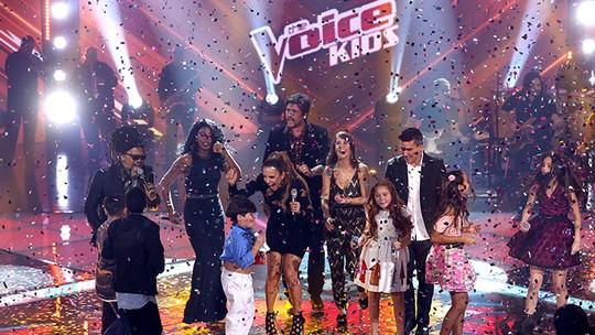 Ivete Sangalo festeja vitória de Thomas Machado no 'The Voice Kids': 'Sensação de dever cumprido'
