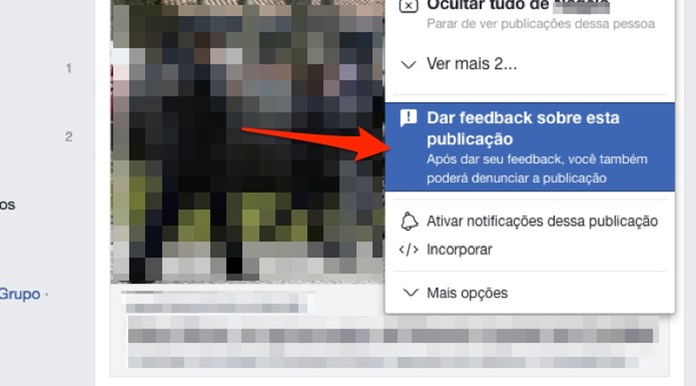 Relate problemas em um post do Facebook — Foto: Reprodução/Marvin Costa