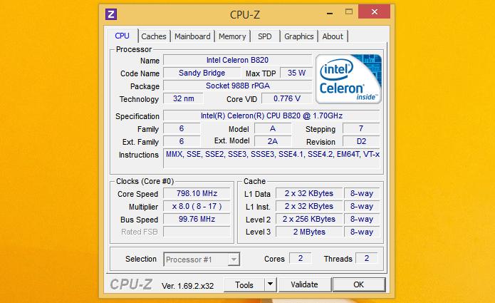 Resultado de imagem para interface cpu-z