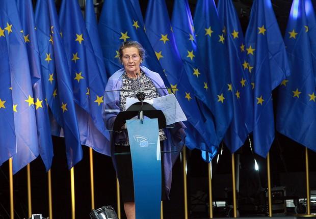 Simone Veil, ex-política francesa responsável pela lei que regularizou o aborto no país. (Foto: Epp Group/Flickr)