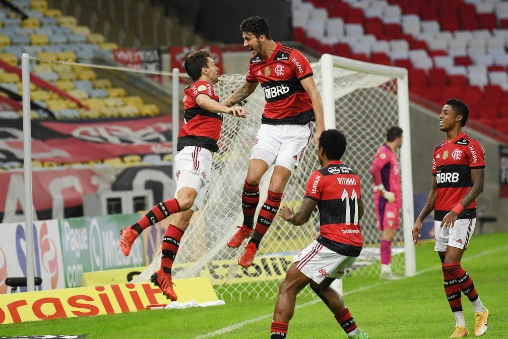 Notas da partida: Bruno Henrique é o melhor em campo; Gabigol e Diego vão mal